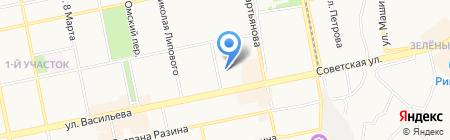 Детский сад №27 на карте Бийска