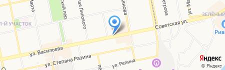 Таки-Суши на карте Бийска