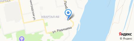 Детский сад №7 на карте Бийска