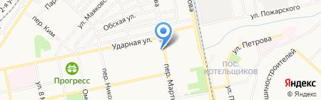 Фурор на карте Бийска