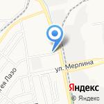 Корзинка Михайловых-9 на карте Бийска
