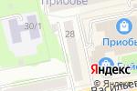 Схема проезда до компании ГЛАВУЧСНАБ в Бийске