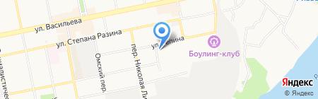 Мопс на карте Бийска