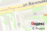 Схема проезда до компании Медовый в Бийске