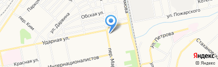 Магазин фастфудной продукции на карте Бийска