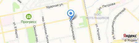 Магазин семян и зоотоваров на карте Бийска