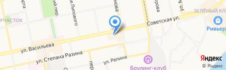 Алмаз-Сервис на карте Бийска