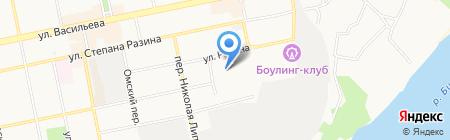 Аргутс на карте Бийска