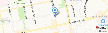 Студия ногтевого сервиса на карте Бийска
