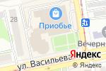 Схема проезда до компании Магазин верхней одежды в Бийске