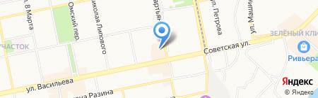 КЬЮ ЛАБС на карте Бийска