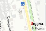 Схема проезда до компании Пивная №1 в Бийске