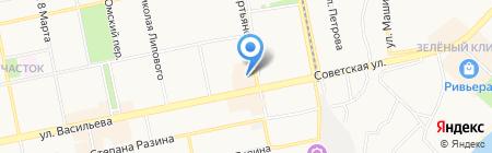 RENI на карте Бийска