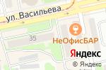 Схема проезда до компании Центр в Бийске