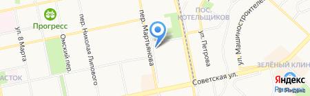 Авиценна на карте Бийска