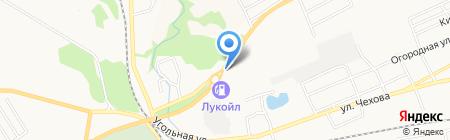 Виадук на карте Бийска