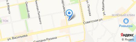 Айсbeerg на карте Бийска