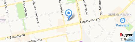 Новация на карте Бийска