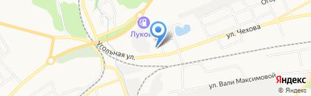 Участковый пункт полиции Отдел полиции Восточный на карте Бийска
