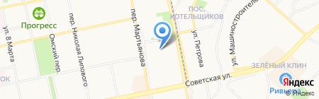 АвтоСтекло на карте Бийска