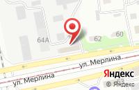 Схема проезда до компании Торгово-Промышленная Фирма «Промсервис» в Бийске