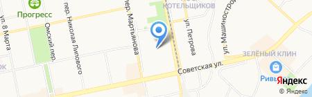 АлтайГраф на карте Бийска