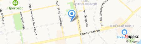 Автомастер на карте Бийска