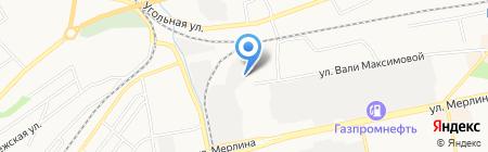 Алтком на карте Бийска