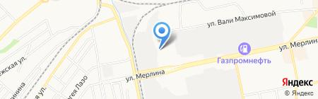 Лонжерон на карте Бийска
