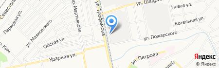 Бийский маслоэкстракционный завод на карте Бийска