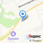 Гаражно-строительный кооператив №20 на карте Бийска