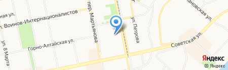 Bajonett на карте Бийска