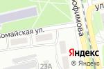 Схема проезда до компании Развитие в Бийске