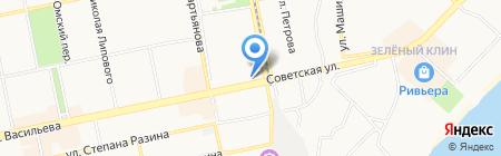 Энфорта на карте Бийска