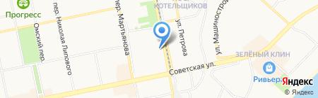 Авангард-Авто на карте Бийска