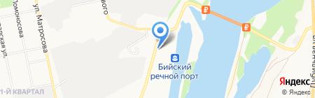 Украинская керамика на карте Бийска