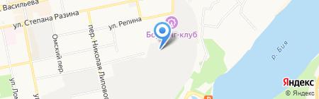 Урал на карте Бийска