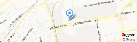 ФГДА на карте Бийска
