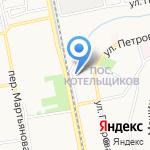 Почтовое отделение №28 на карте Бийска