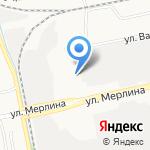 Городок на карте Бийска