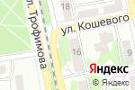 Схема проезда до компании Печки-лавочки в Бийске