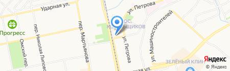 Киррос на карте Бийска