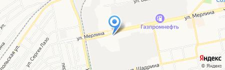 Светофор на карте Бийска