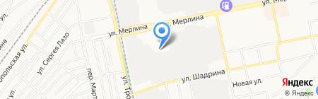 БийскТехГаз на карте Бийска