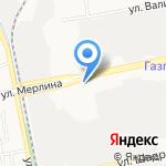 Термофор Бийск на карте Бийска