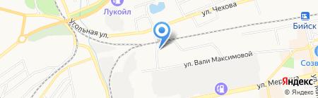 Влада на карте Бийска