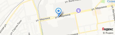 Территориальный отдел надзорной деятельности №2 на карте Бийска