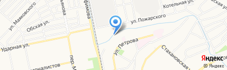 Котельщик на карте Бийска