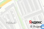 Схема проезда до компании Гаражно-строительный кооператив №21 в Бийске