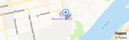 Бийскмясопродукт на карте Бийска